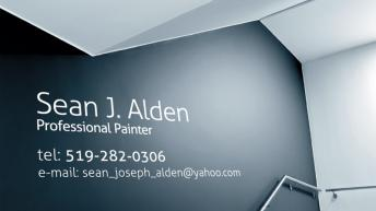 Sean Alden - Painting